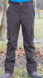Multifunctional Pants made from Nubuck Leather